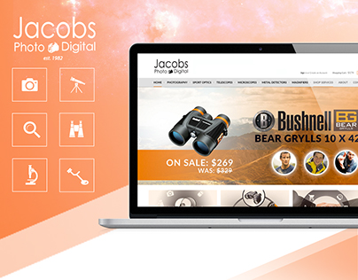 Jacobs Photo & Digital web design
