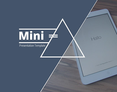 Mini Power Point Presentation Template