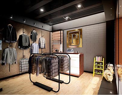 Retail Store / Interior Design / 2019