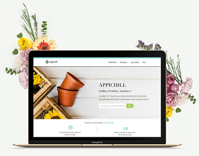 Appichill-garden sharing platform
