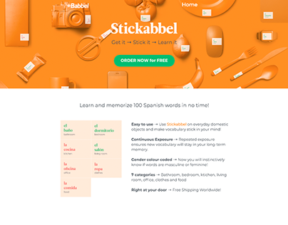 Stickabbel. Get it → Stick it → Learn it