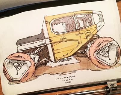 Sketchbook Jan. - Mar. 2018