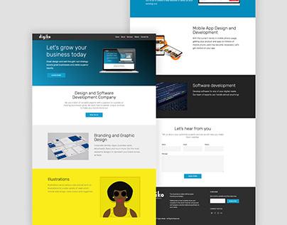 Digiko Web Redesign
