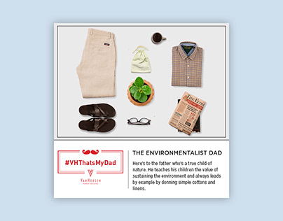 Van Heusen Father's Day Campaign- 2015