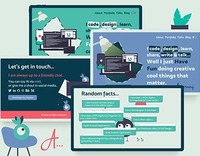 Interactive Personal Website