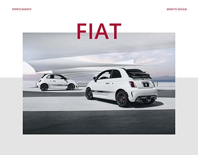 Fiat website design