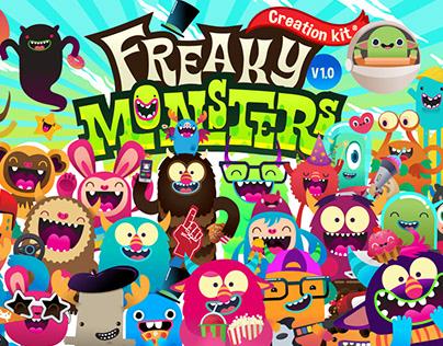Freaky Monsters World!