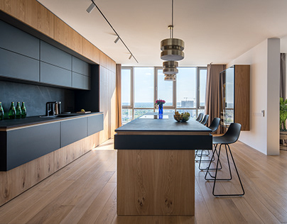 River Stone, the residential complex apartment interior