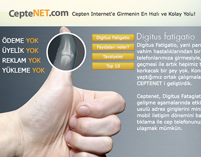 Ceptenet.com App Design