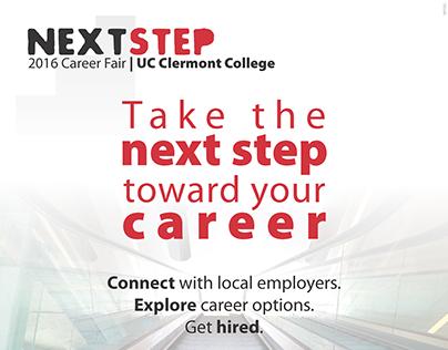 NextStep Career Fair poster