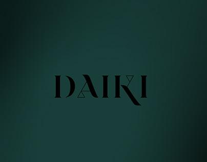 Daiki Restaurant Branding