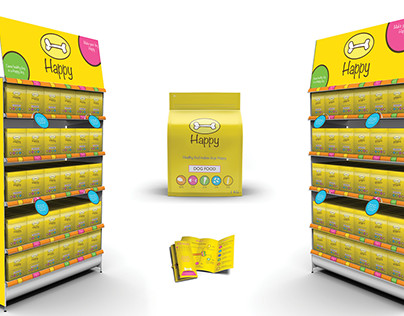 Happy - Dog Food Brand - School Project