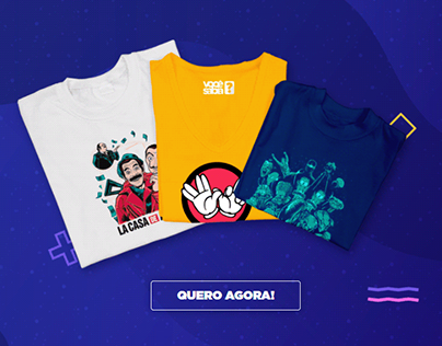 Landing Page | Camisetas Você Sabia