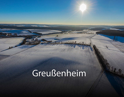 Luftbilder von Greußenheim