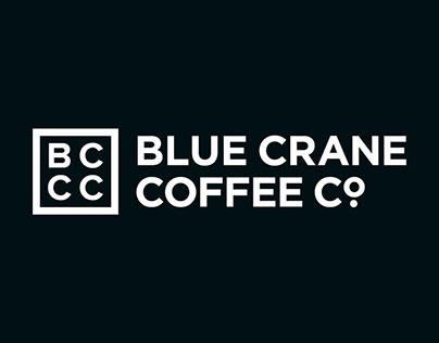 Blue Crane Coffee Company Brand Identity