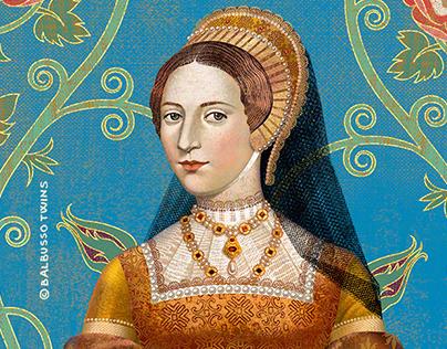 Katheryn Howard Queen portrait by ©2020Balbusso Twins