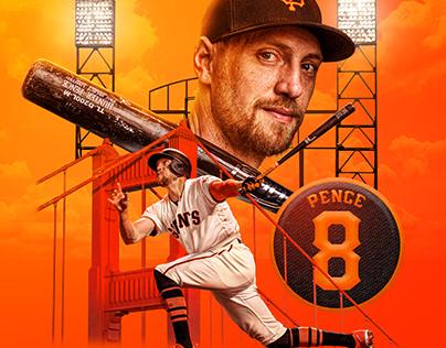 Hunter Pence (San Francisco Giants) | (Personal) - 2021