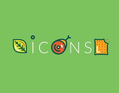 Icon sets 2015/16