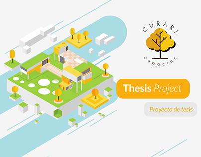 Curari Espacios- Thesis Project