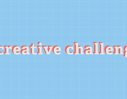Illustrator Creative Challenge