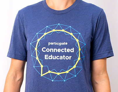 Connected Educator Logo and T-shirt