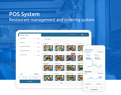 POS System - Restaurant management and ordering system