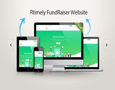 Rtimely Fundraiser Website