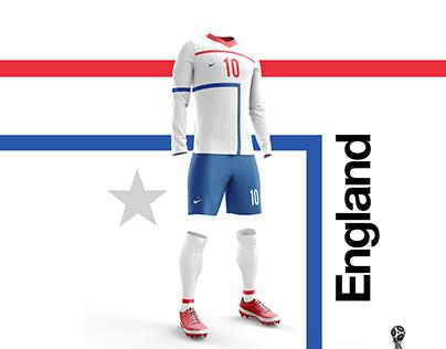 2018 FIFA World Cup Russia // Retro Kit Designs