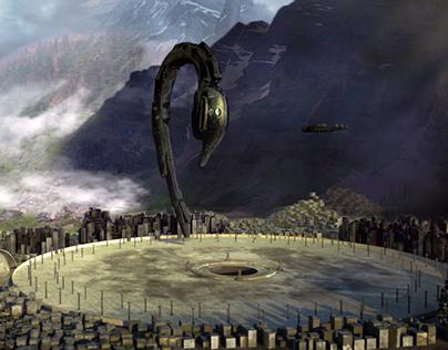 3D Scene ( Alien Covenant )