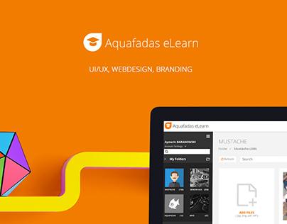 Aquafadas eLearn - UX/UI Design