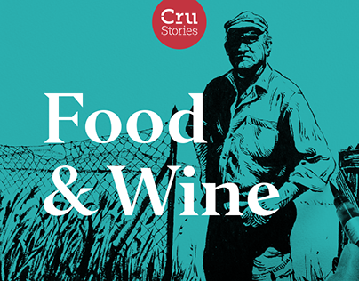 Illustrations for Food & Wine