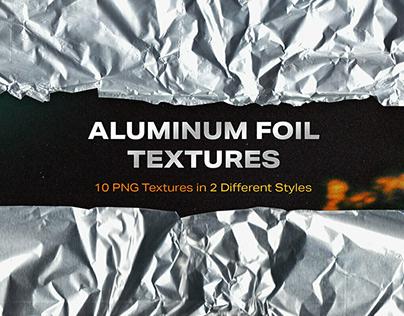Aluminum Foil Textures byJesse Nunez