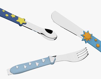 Cielito - Children's Cutlery