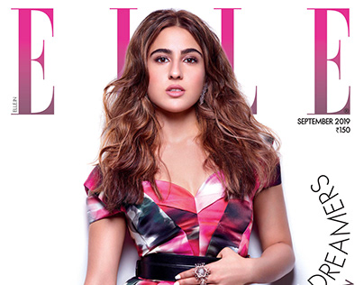 Sara Ali Khan for Elle Sept 2019