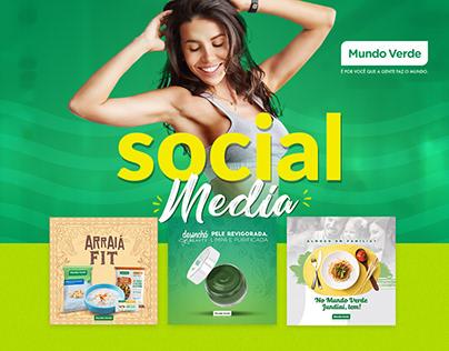 Social Media - Mundo Verde Jundiaí