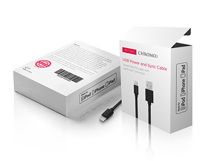 USB Cable Packaging Design