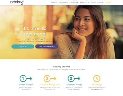 InnerHour- Self Help Web Application