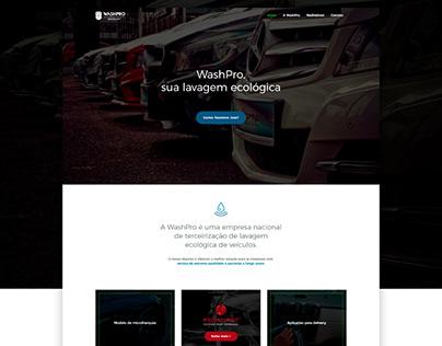 Site institucional WashPro