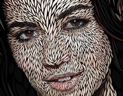 Marina | Vector portrait