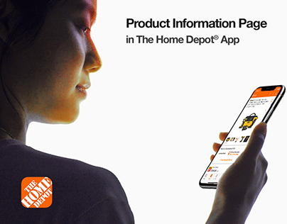 The Home Depot® App - Product InformationPage