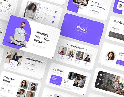 Finco – Finance Presentation Template