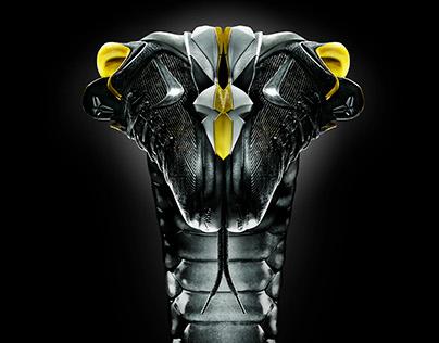 Kobe VII retouching for Nike