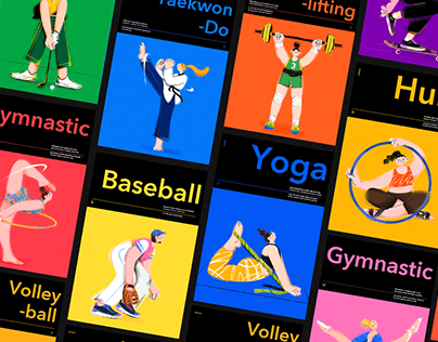 Sports Girl Character Illustrator
