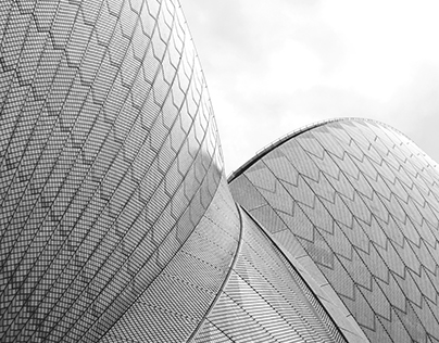 Commercial Architecture in shapes