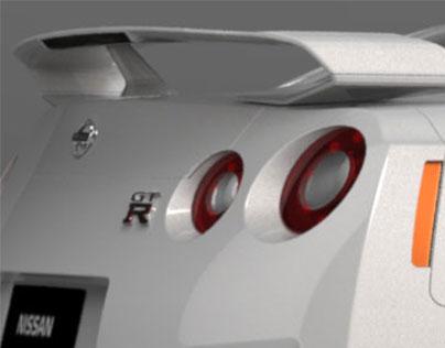 Class A // Nissan Gtr // surface modeling