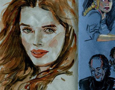 SketchBook 2014 - Stéphane Lauzon