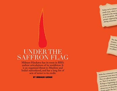Under the saffron flag