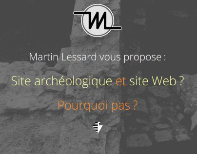 Site Web et archéologie