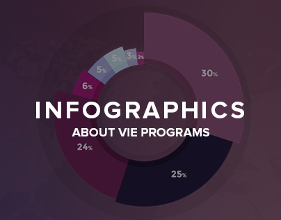 Infographics about VIE programs