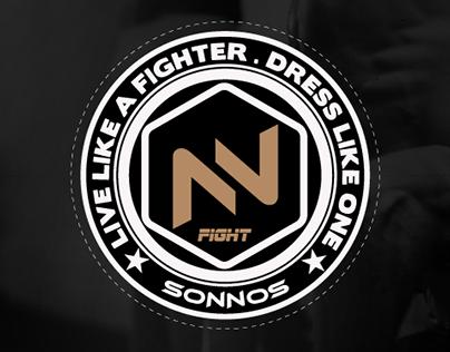 Sonnos Fight Branding